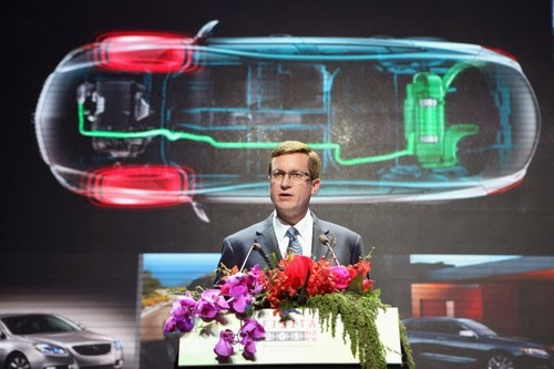 GM accelerating electric vehicle technology development, in China