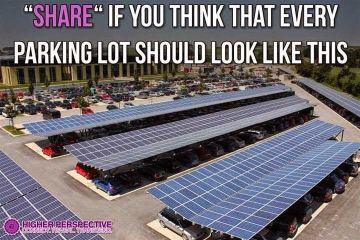 Solar panels and electric cars are a great combination