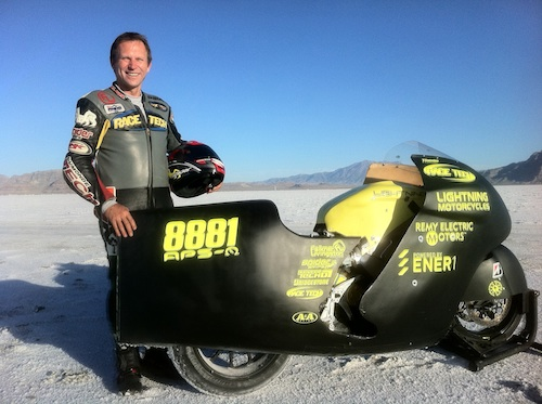 2011 Bonneville, Lightning Motors, Paul Thede