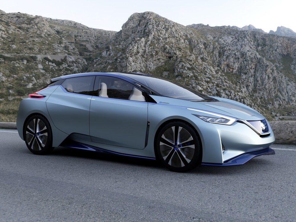 nissan ids concept car may be preview of 2018 leaf with 60 kwh pack and 300ish mile range the. Black Bedroom Furniture Sets. Home Design Ideas