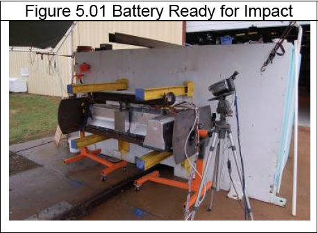 Chevy Volt battery pack test