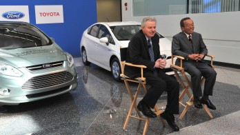 Ford and Toyota teaming up on hybrid drive-train development