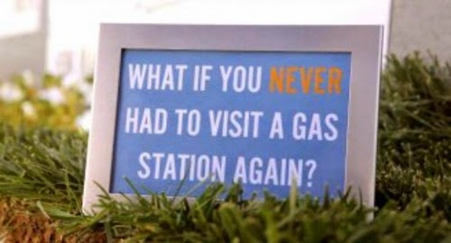 Coda Automotive Grass Station - never buy gas again
