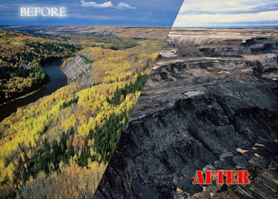 tar sands before/after