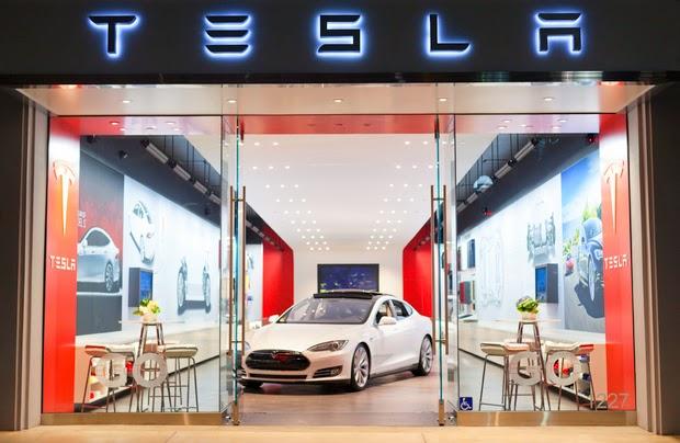 Tesla Motors 3rd Street Store