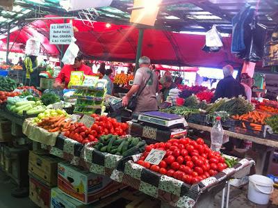 Farmers Market in Romania