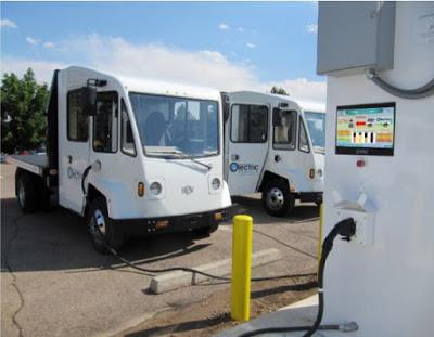 Boulder EV trucks-at-charging-stations