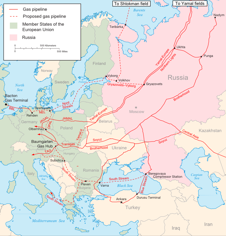 Russia-Ukraine crisis has Europe's energy Ministers scrambling under threat of another Russian gas blackout
