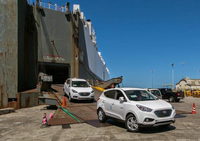 Hyundai Tuscon Fuel Cell EV