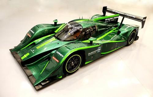 Drayson Racing's electric Lola race car