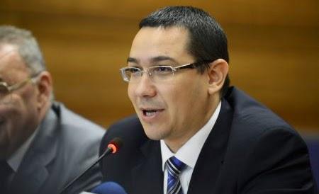 Romania Prime Minister Victor Ponta