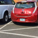 Electric car drivers aren't entitled to violate other laws, like handicapped parking