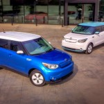 Kia Soul EV with 93 mile range 100 kW CHAdeMO, second only to Model S in driving autonomy