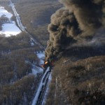 Another oil bomb train – why are they shipping crude oil by train? – Symptoms of fossil fuel addiction