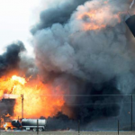 Fracking wastewater injection wells are potential firebomb risks, it seems