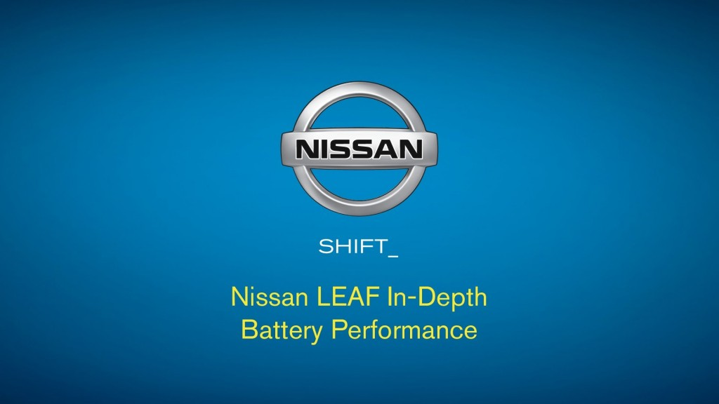 Nissan's latest Leaf videos discusses battery pack warranties and the new plant in Smyrna TN