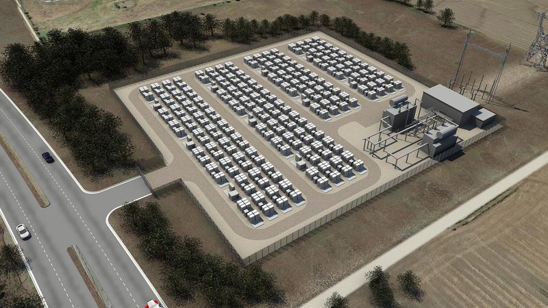 Tesla Energy - Utility scale