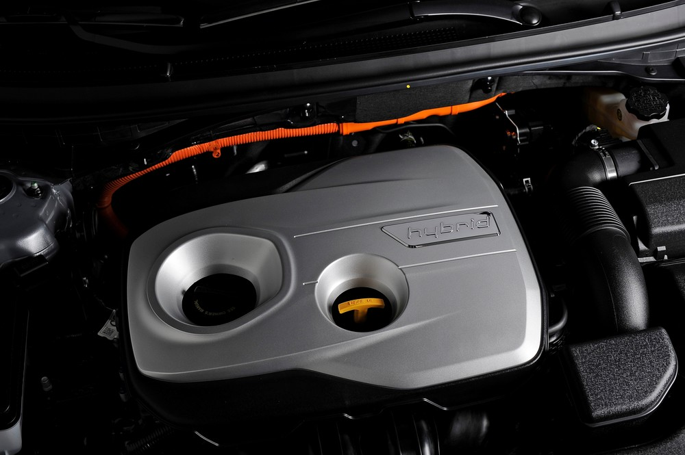 2016 Hyundai Sonata Plug-in Hybrid Electric Vehicle (PHEV), Powertrain
