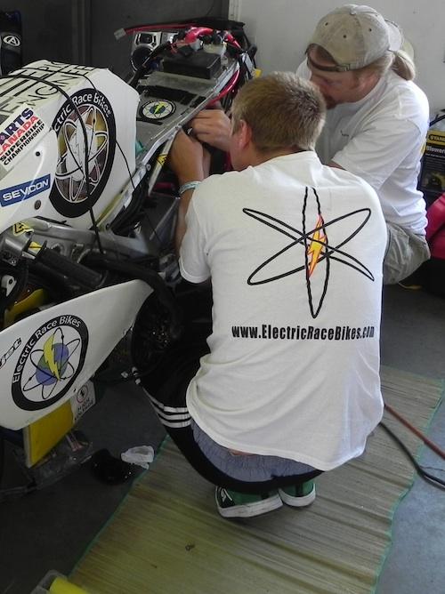 Matt Deickmann at 2010 TTXGP, Mosport