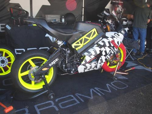 Brammo Empulse RR at 2012 TTXGP, Portland International Raceway
