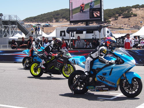 2012 e-Power, Laguna Seca, starting lineup