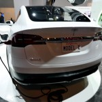 The Tesla Model X was on display at 2015 CES, and this guy did a complete walkaround of the car