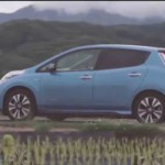 Video showing 544 kilometer range on a Nissan Leaf — 338 miles