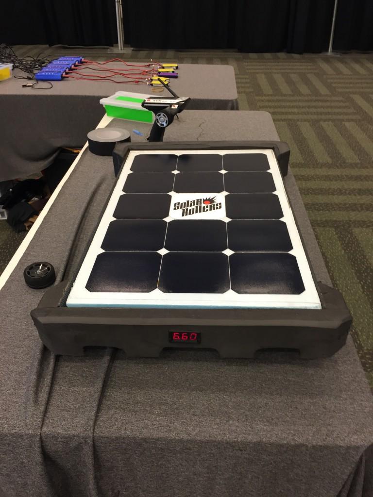 Solar Rollers race car