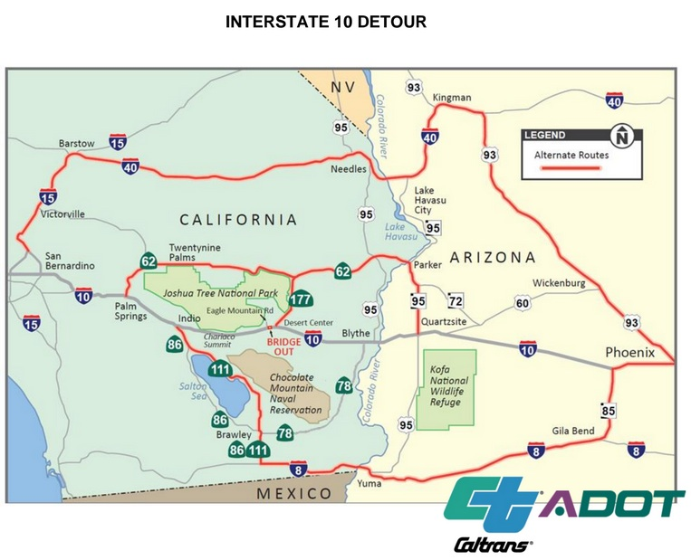 i-10-closure following Tropical Storm Dolores, July 2015 severe-storm