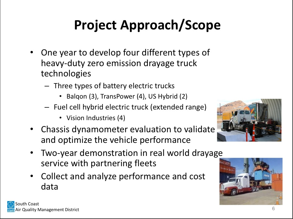 EV Big Trucks scaqmd-scope