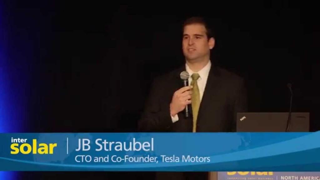 Tesla's JB Straubl warns Intersolar US 2015 the solar/storage business is about to be revolutionized