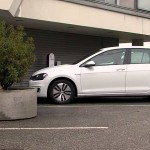 Volkswagen e-Golf Self-Parking Self-Charging Electric Vehicle