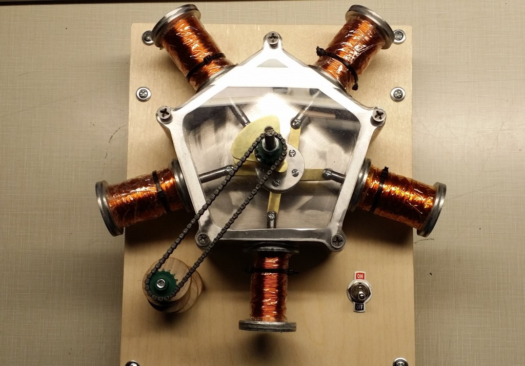 Radial solenoid engine – electric motors of a different kind | The