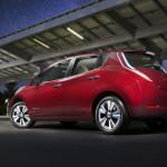 Nissan's 2016 Leaf now EV range champ — 107 miles range