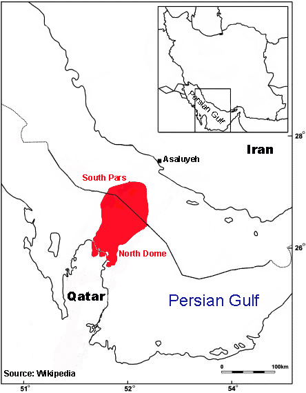 Iran Natural Gas Field Syrias Civil War And The Refugee