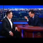 Elon Musk Might Be A Super Villain – Elon survives the Colbert mix-master