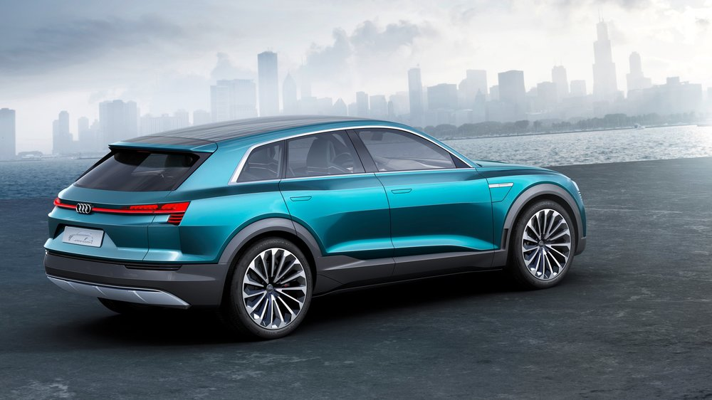 More Details On Audi ETron Quattro Concept Electric Car Still Not - Audi e car