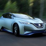 Pictures of the Nissan IDS Concept vehicle – the future of EVs and autonomous driving