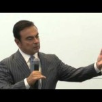 Renault-Nissan CEO Ghosn at 2015 Tokyo Motor Show media roundtable (English)