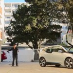 Safe and unsafe guerrilla electric car charging at apartment buildings