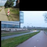 Converting an old street in Hertogenbosch, NL, into a bicycling route