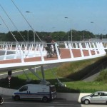 Floating Bicycle Roundabout in Eindhoven, Netherlands – the Hovenring