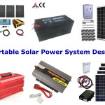 Portable solar power system design, a clean green power system for the road