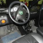 Green Vehicles, cabin interior