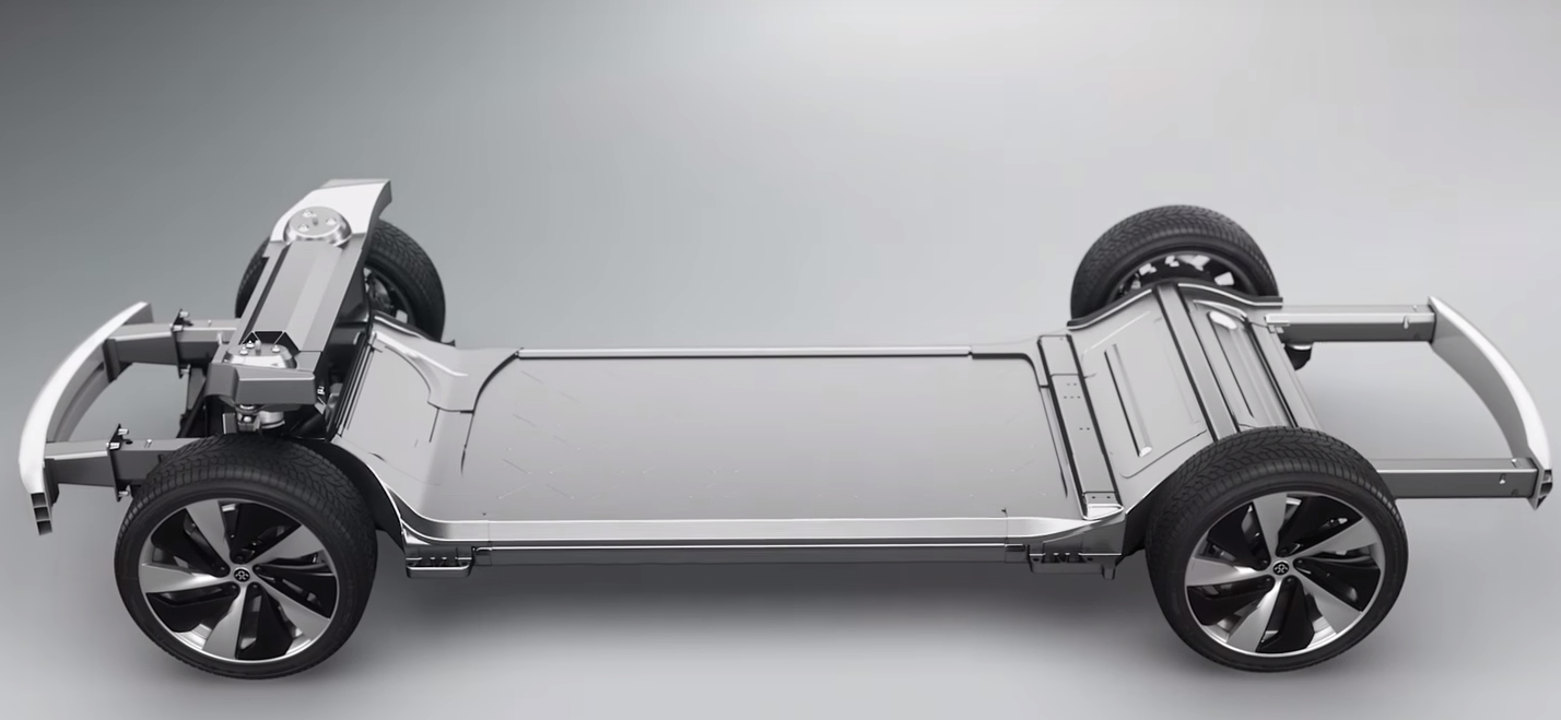Faraday Future Unveils Nearly Impossible Electric Car