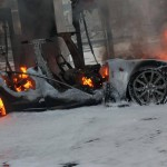 Model S catches fire in Norway at Supercharger, charging system seemingly at fault