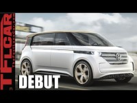 VW BUDD-e Debut Concept: Volkswagen brings back the Micro-Bus & it is Electric