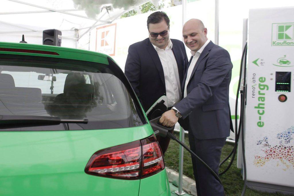 Romania Gets Electric Car Fast Charging Network At Kaufland Big Box