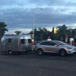 Tesla Model X towing a trailer caught violating charging station etiquette