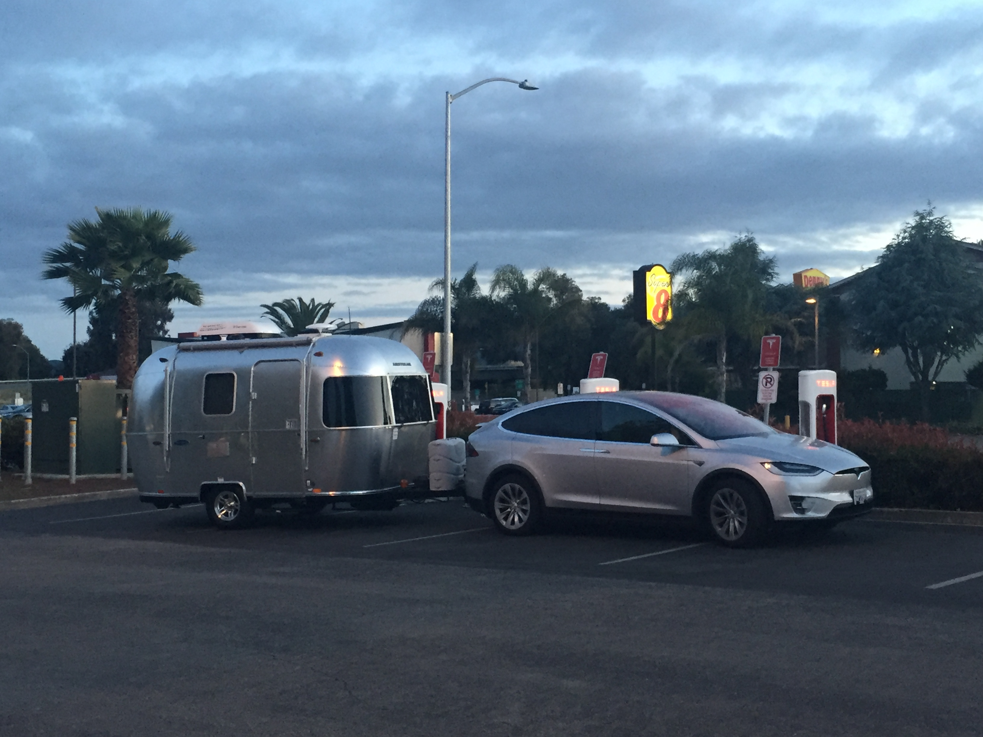 Tesla Charging Station Cost >> Tesla Model X towing a trailer caught violating charging station etiquette   The Long Tail Pipe